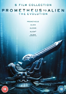 Prometheus to Alien: The Evolution Collection, DVD