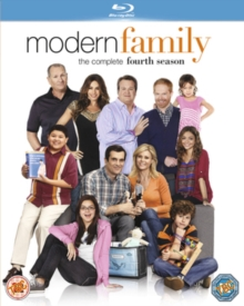 Modern Family: The Complete Fourth Season, Blu-ray BluRay