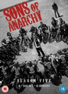 Sons of Anarchy: Complete Season 5, DVD