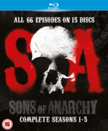 Sons of Anarchy: Complete Seasons 1-5, Blu-ray