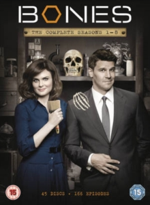 Bones: The Complete Seasons 1-8, DVD DVD