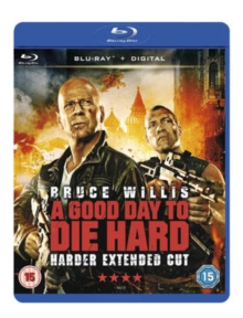 A   Good Day to Die Hard, Blu-ray
