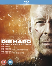 Die Hard: 1-5 Legacy Collection, Blu-ray  BluRay