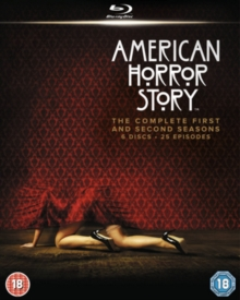American Horror Story: The Complete First and Second Seasons, Blu-ray BluRay