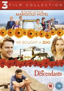 The Best Exotic Marigold Hotel/We Bought a Zoo/The Descendants, DVD