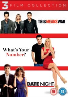 This Means War/What's Your Number?/Date Night, DVD