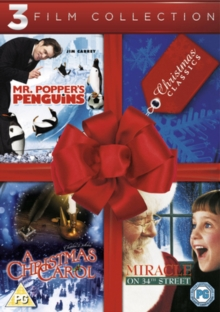 Mr Popper's Penguins/A Christmas Carol/Miracle On 34th Street, DVD  DVD