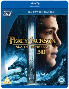 Percy Jackson: Sea of Monsters, Blu-ray