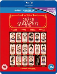 The Grand Budapest Hotel, Blu-ray