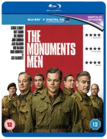 The Monuments Men, Blu-ray