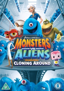 Monsters Vs Aliens: Cloning Around, DVD