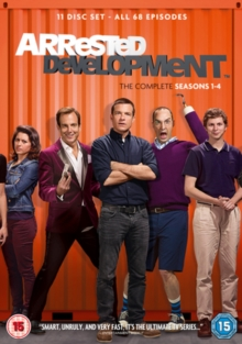 Arrested Development: Seasons 1-4, DVD