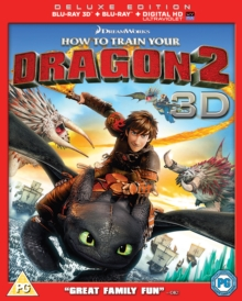 How to Train Your Dragon 2, Blu-ray
