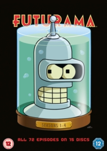 Futurama: Seasons 1-4, DVD DVD