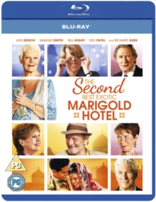 The Second Best Exotic Marigold Hotel, Blu-ray