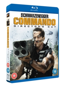 Commando: Director's Cut, Blu-ray