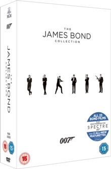 The James Bond Collection, DVD