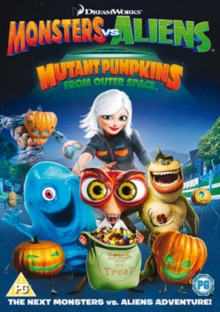 Monsters Vs Aliens: Mutant Pumpkins from Outer Space, DVD