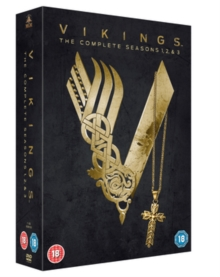 Vikings: The Complete Seasons 1, 2 & 3, DVD