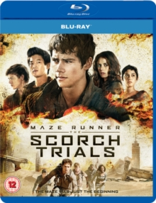 Maze Runner: Chapter II - The Scorch Trials, Blu-ray