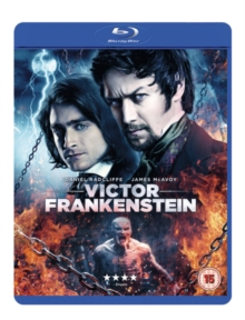 Victor Frankenstein, Blu-ray BluRay