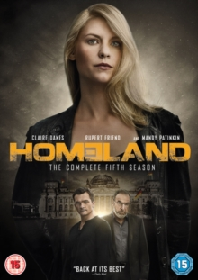 Homeland: The Complete Fifth Season, DVD