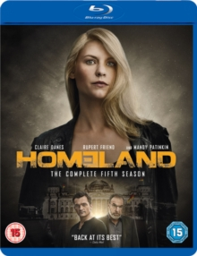 Homeland: The Complete Fifth Season, Blu-ray