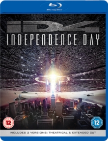 Independence Day: Theatrical and Extended Cut, Blu-ray