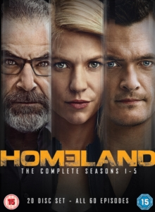 Homeland: The Complete Seasons 1-5, DVD