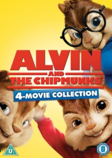 Alvin and the Chipmunks 1-4, DVD