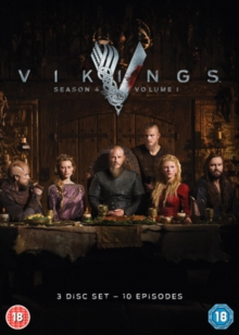 Vikings: Season 4 - Volume 1, DVD DVD