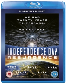 Independence Day: Resurgence, Blu-ray