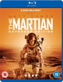 The Martian: Extended Edition, Blu-ray