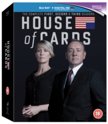 House of Cards: Seasons 1-3, Blu-ray  BluRay