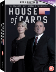 House of Cards: Seasons 1-3, DVD