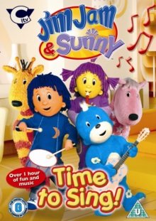 Jim Jam and Sunny: Time to Sing, DVD