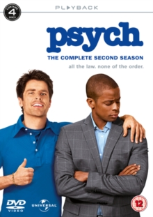 Psych: The Complete Second Season, DVD