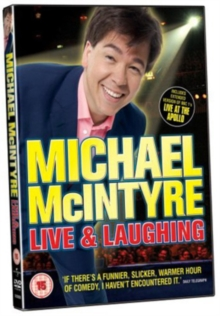 Michael McIntyre: Live and Laughing, DVD  DVD