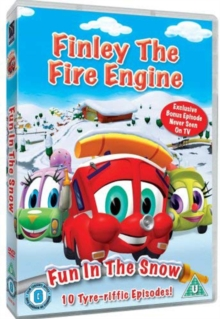 Finley the Fire Engine: Fun in the Snow, DVD