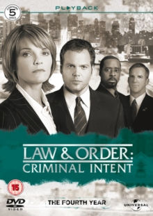 Law and Order - Criminal Intent: Season 4, DVD