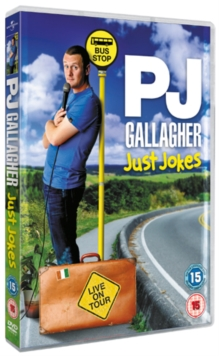 PJ Gallagher: Live On Tour - Just Jokes, DVD