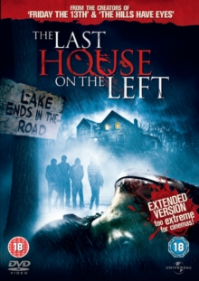 The Last House On the Left: Extended Version, DVD