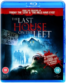 The Last House On the Left: Extended Version, Blu-ray