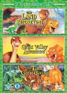 The Land Before Time 1-3, DVD