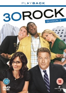 30 Rock: Season 3, DVD