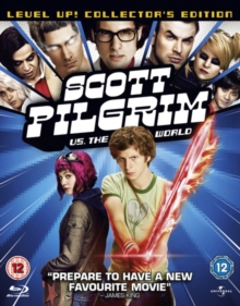 Scott Pilgrim Vs. The World, Blu-ray