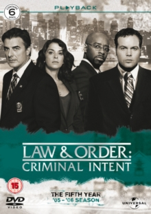 Law and Order - Criminal Intent: Season 5, DVD