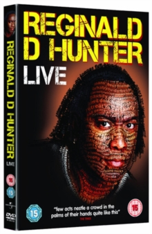 Reginald D Hunter: Live 2011, DVD  DVD