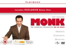 Monk: Complete Series, DVD