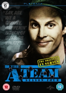 The A-Team: Series 4, DVD